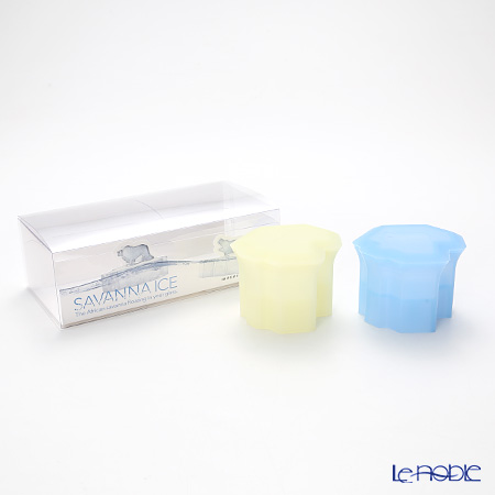 モノス monos サバンナアイス(製氷器) ライオン&カバ(イエロー&ブルー) MOSI-LH