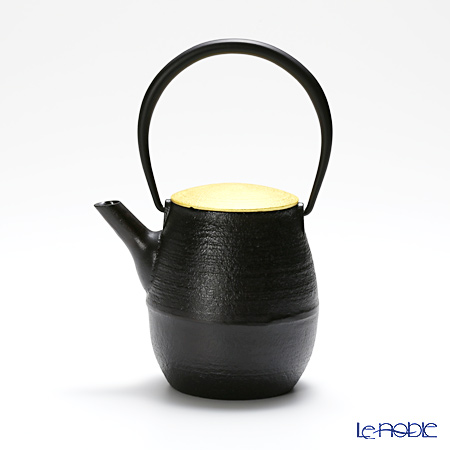 YOnoBI ヨーノビ 鉄瓶ティーポットS ナツメCS GP SG014 金箔仕上げ 0.6L