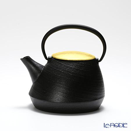 YOnoBI Yamagata casting teapot (Tetsubin / Tekki) CS GP shaen SG034 S/gold 0.65 l