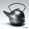 YOnoBI Takaoka casting teapot (Tetsubin / Tekki) Kabuto II 011 S/laver silver 0.6 l