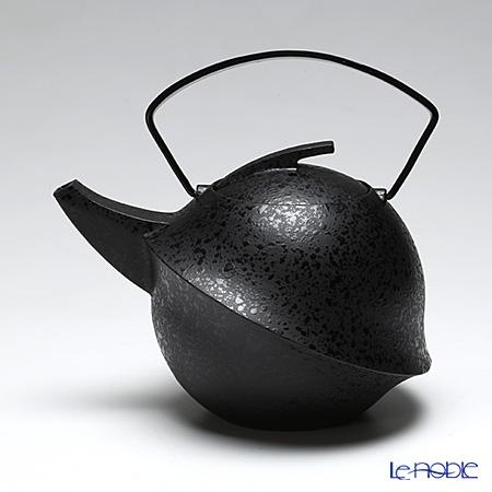 YOnoBI ヨーノビ 鉄瓶ティーポット カブト2013 エボニー 0.6L