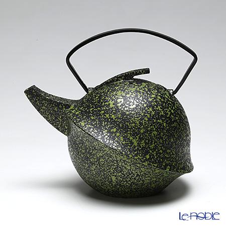 YOnoBI ヨーノビ 鉄瓶ティーポット カブト2 015 コケ 0.6L