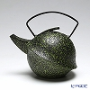 YOnoBI 'Kabuto II - Koke' Green Cast Iron Tea Pot 600ml