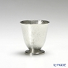Osaka Naniwa Suzuki / Pewter Ware 'Leaf' Footed Tumbler 100ml (S)