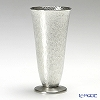 Osaka Naniwa Suzuki / Pewter Ware 'Leaf' Footed Tall Tumbler 220ml