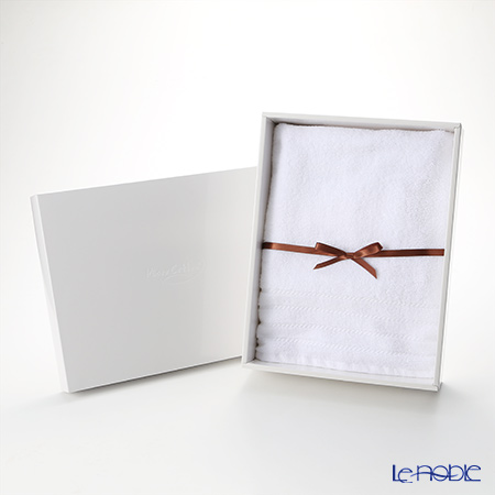 Micro Cotton Regular Bath Towel, white with gift box