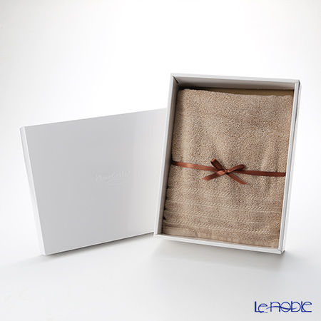 Micro Cotton Regular Bath Towel, mocha with gift box