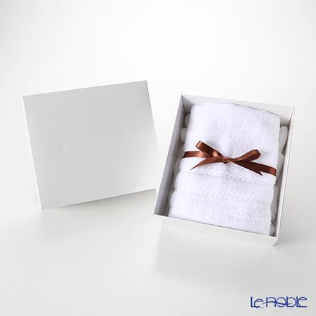 マイクロコットン レギュラー ハンドタオル ホワイト(箱付)