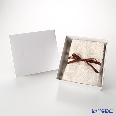 Micro Cotton Regular Hand Towel, ivory with gift box