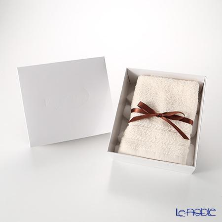 マイクロコットン レギュラー ハンドタオル アイボリー(箱付)