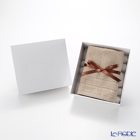 Micro Cotton Regular Hand Towel, mocha with gift box