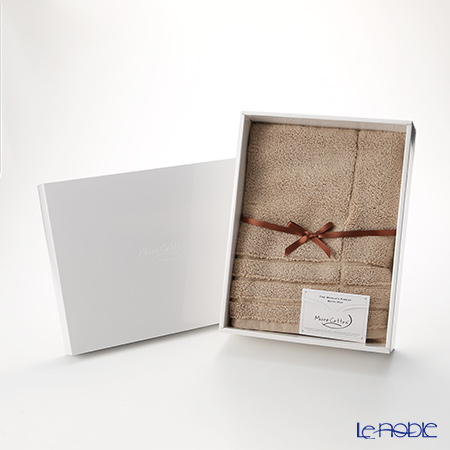 Micro Cotton Bath Mat, mocha, large with gift box
