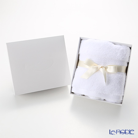 Micro Cotton Premium Face Towel, white with gift box