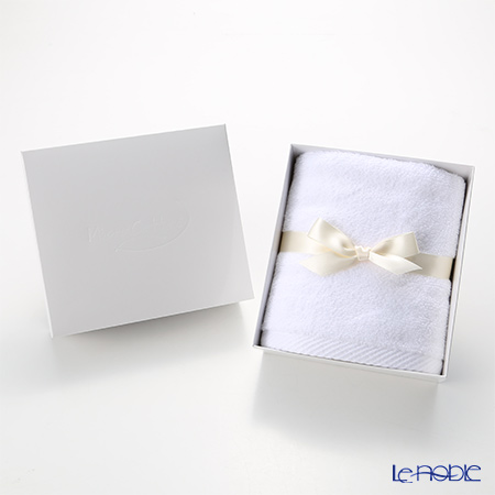 Micro Cotton Luxury Face Towel, white with gift box
