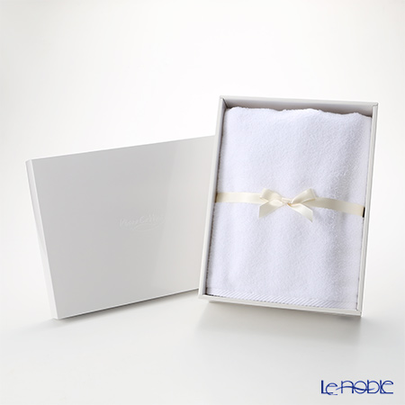 Micro Cotton Luxury Bath Towel, white with gift box
