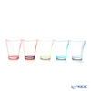 Plakira 'Yuragi' Two Tones Pastel [Tritan] Tumbler 240ml (S, set of 5 colors)