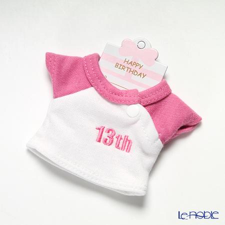 バースデーバニー用Tシャツ 13日 ピンク