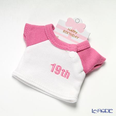 バースデーバニー用Tシャツ 19日 ピンク
