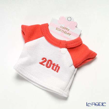 バースデーバニー用Tシャツ 20日 レッド
