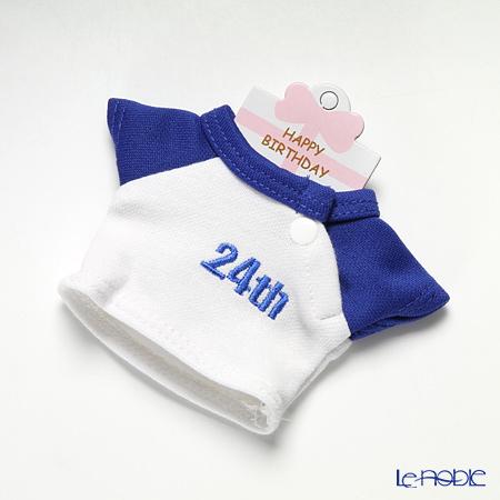 バースデーバニー用Tシャツ 24日 ブルー