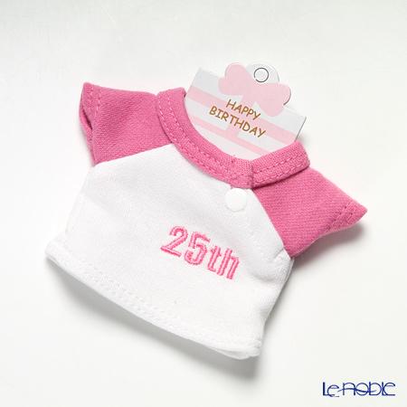 バースデーバニー用Tシャツ 25日 ピンク