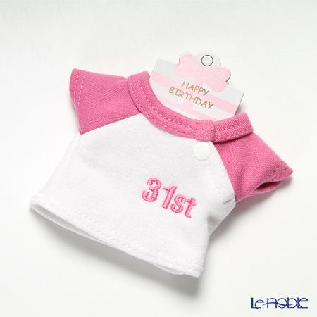 バースデーバニー用Tシャツ 31日 ピンク