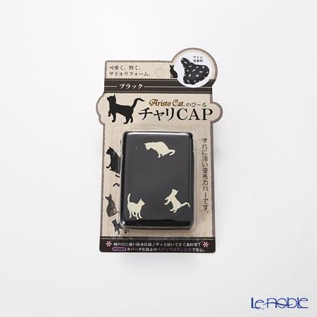 のび〜るチャリCAP(自転車サドルカバー)アリスト・キャット ブラック AC-04