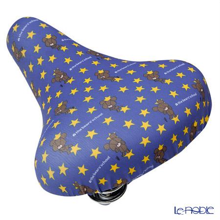 くまのがっこう チャリCAP(自転車サドルカバー)星空散歩 一般サドル用 IP-008