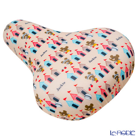 Aile 'The Bears' School - Stripe Tent' Pink IP-009 Bicycle Saddle Cover