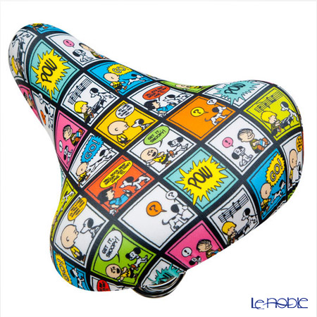 Snoopy bike CAP (bicycle saddle cover) 50 s Art General for saddle PE-002