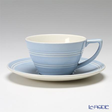 ウェッジウッド(Wedgwood) ジャスパーコンラン カジュアルティーカップ&ソーサー(ブルー)