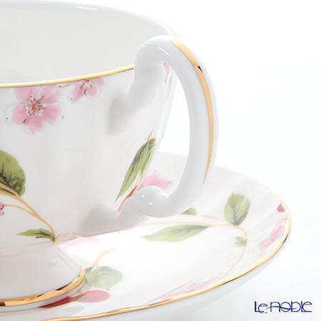 Aynsley 'Cherry Blossom' Oban Tea cup & Sauce 180ml