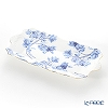Aynsley 'Elizabeth Rose Blue' Sandwich Tray 32.5x16cm