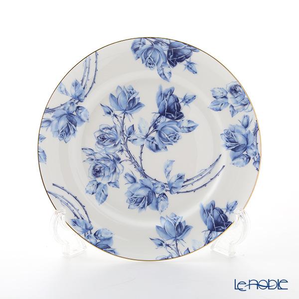 エインズレイ エリザベスローズ ブルー プレート 20cm
