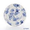 Aynsley Elizabeth Rose Blue Plate 20 cm