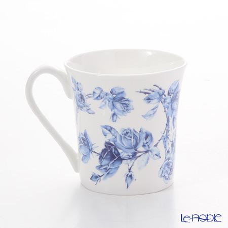 Aynsley 'Elizabeth Rose Blue' York Mug 320ml