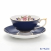 Aynsley Pembroke Athens Teacup & Saucer, cobalt 200 ml #2901
