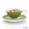 Aynsley Pembroke Athens Teacup & Saucer, mill green 200 ml #2901