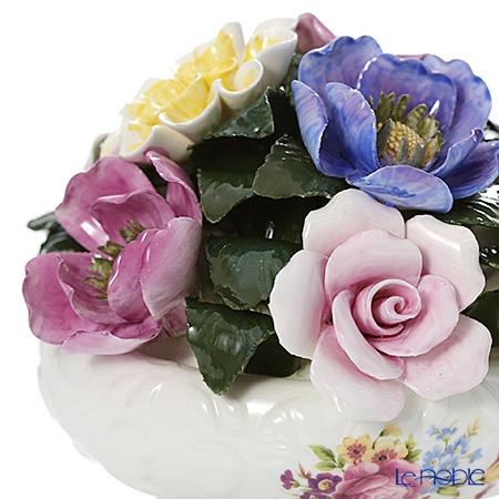 Aynsley 'Howard Sprays' Floral Georgian Footed Bowl (S)