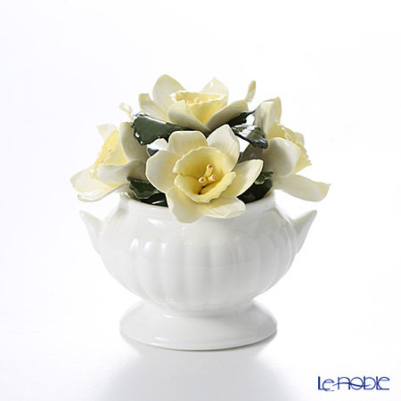 Aynsley 'Anniversary Flowers - Daffodil / April' Floral Pot