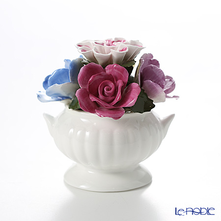 Aynsley 'Anniversary Flowers - Mixed / September' Floral Pot