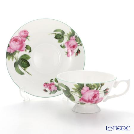Aynsley 'English Rose' Athens Tea Cup & Saucer 200ml