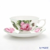Ansley English Rose Athens Teacup & Saucer