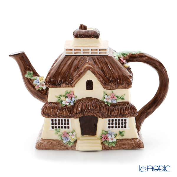 Aynsley 'British House - Cornwall (Flower)' Tea Pot 700ml