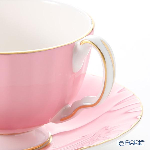 エインズレイ コテージガーデン #2973ティーカップ&ソーサー(オーバン) ピンク 180ml