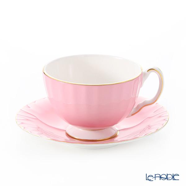 エインズレイ コテージガーデン #2973 ティーカップ&ソーサー(オーバン) ピンク 180ml