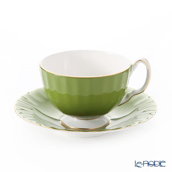 Aynsley 'Cottage Garden' Mill Green Oban Tea Cup & Saucer 180ml