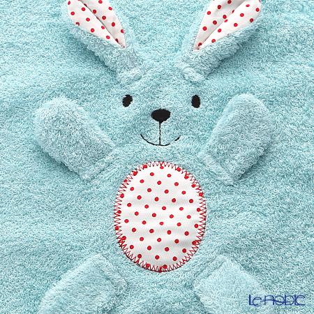 今治タオル うまれる ぬいぐるみウォッシュタオル ブルー 綿100% 32×32cm