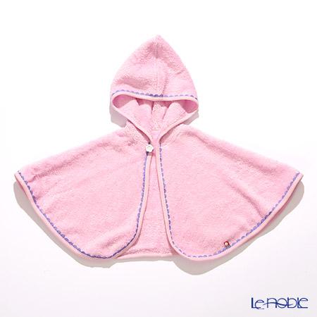 今治タオル ケープ ピンク 着丈約30cm 新生児〜2歳ぐらい