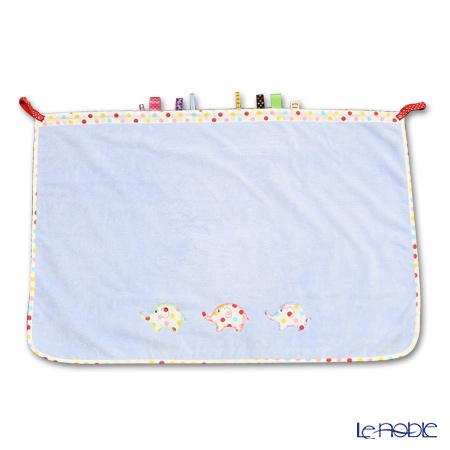 Imabari towel/今治毛巾`DOKODEMO Blanket Light ` Blue 60 x 90 cm UV cut over 90%